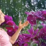 maria et pluie